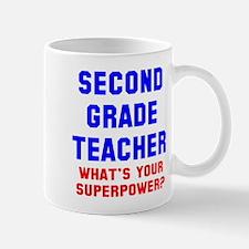 2nd Grade Teacher Superpower Mug