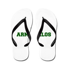Armadillos-Fre dgreen Flip Flops