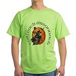 Irish Witch (Gaelic) Green T-Shirt