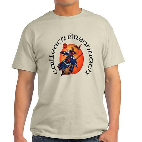 Irish Witch (Gaelic) Light T-Shirt