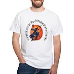 Irish Witch (Gaelic) White T-Shirt