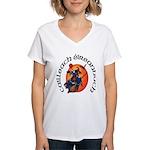 Irish Witch (Gaelic) Women's V-Neck T-Shirt