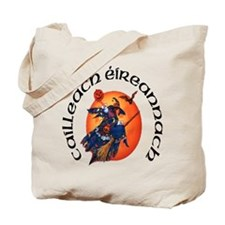 Irish Witch (Gaelic) Tote Bag