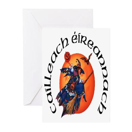 Irish Witch (Gaelic) Halloween Cards (10)