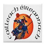 Irish Witch (Gaelic) Tile Coaster