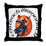 Irish Witch (Gaelic) Throw Pillow