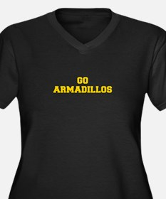 Armadillos-Fre yellow gold Plus Size T-Shirt
