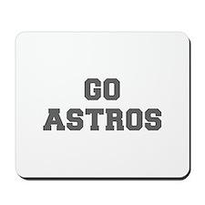 ASTROS-Fre gray Mousepad
