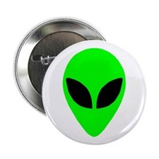 "Alien Head 2.25"" Button (10 pack)"