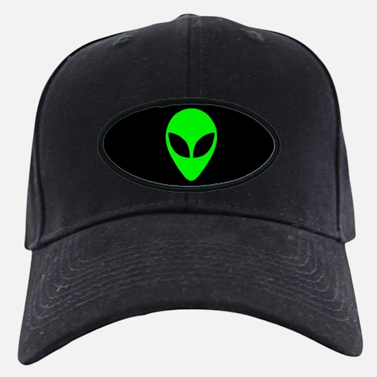 Alien Head Baseball Hat