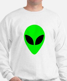Alien Head Sweatshirt