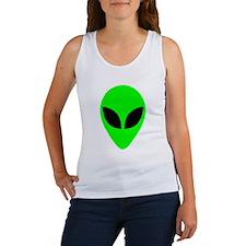 Alien Head Women's Tank Top
