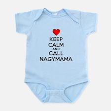 Keep Calm Call Nagymama Body Suit
