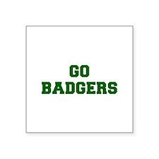 Badgers-Fre dgreen Sticker
