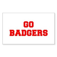 BADGERS-Fre red Decal