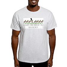 Happy Birthday Gregory (ants) T-Shirt
