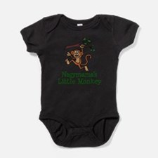 Nagymama's Little Monkey Baby Bodysuit