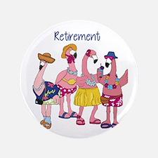 """Retired Flamingos 3.5"""" Button"""