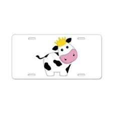 King Cow Aluminum License Plate