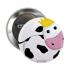 """King Cow 2.25"""" Button (10 pack)"""