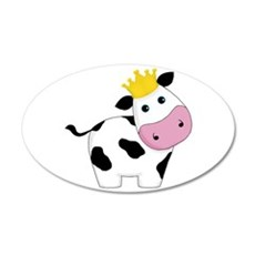 King Cow Wall Decal