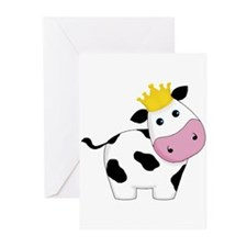 King Cow Greeting Cards