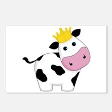King Cow Postcards (Package of 8)