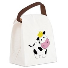 King Cow Canvas Lunch Bag
