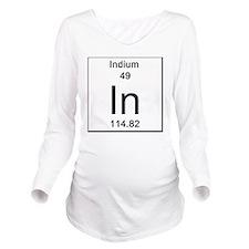 49. Indium Long Sleeve Maternity T-Shirt