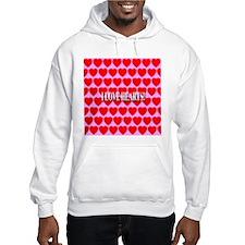 I Love Hearts! Jumper Hoody
