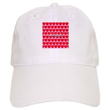 I Love Hearts! Baseball Cap