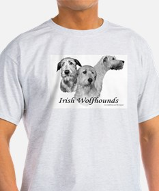 3 Irish Wolfhound T-Shirt
