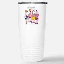 Retired Flamingos Travel Mug