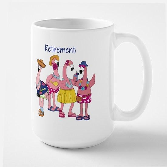 Retired Flamingos Mugs