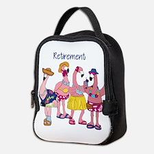Retired Flamingos Neoprene Lunch Bag