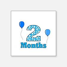 2 Months - Baby Milestones Sticker