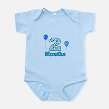 2 Months - Baby Milestones Body Suit