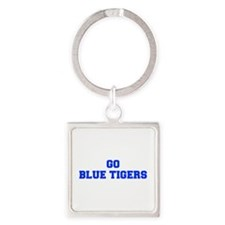 Blue Tigers-Fre blue Keychains