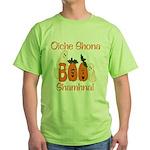 Gaelic Halloween Boo! Green T-Shirt