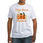 Gaelic Halloween Boo! Fitted T-Shirt
