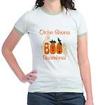 Gaelic Halloween Boo! Jr. Ringer T-Shirt