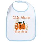 Gaelic Halloween Boo! Bib