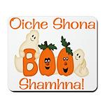Gaelic Halloween Boo! Mousepad