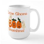 Gaelic Halloween Boo! Large Mug