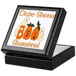 Gaelic Halloween Boo! Keepsake Box