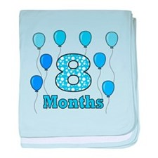 8 Months - Baby Milestones baby blanket