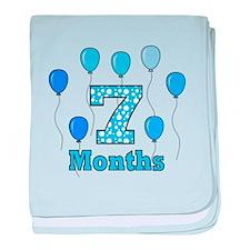 7 Months - Baby Milestones baby blanket