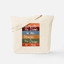 Unique Namaste Tote Bag