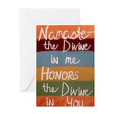 Cute Peace honor Greeting Card