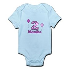 2 Months - Purple Polka Dot Body Suit